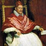 Velázquez, Innocent X, Pope.